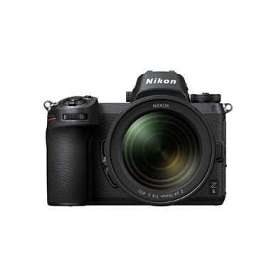 Nikon Z6 + NIKKOR Z 24-70mm f/4 S+ FTZ adapteris