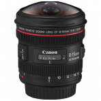Canon EF 8-15mm f/4 L USM fisheye