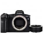 Canon EOS R + EF-R adapteris
