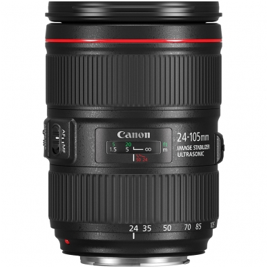 Canon 24-105mm f/4,0L IS II EF USM