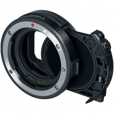Canon Drop-In Filter Mount Adapter EF-EOS R with Variable ND Filter 3