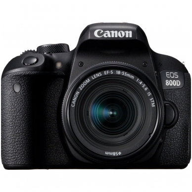 Canon EOS 800D EF-S 4.0-5.6 18-55 IS STM