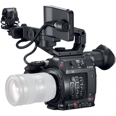 Canon EOS C200 EF Cinema Camera 4