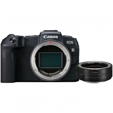 Canon EOS RP Body+  R Mount Adapter
