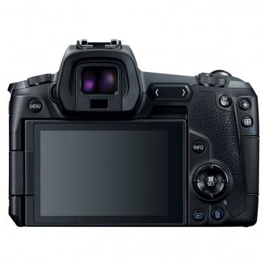 Canon EOS R  RF 24-105mm f/4L IS USM su adapteriu EF To EOS R 2