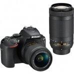 Nikon D5600 Kit (AF-P 18-55mm VR + AF-P 70-300mm G ED VR)