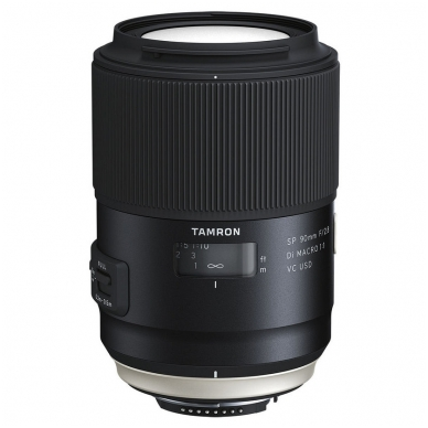Tamron SP 90mm f/2.8 Di Macro VC USD